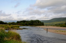 Cape Breton's Margaree River, popular with flyfishers around the world.
