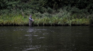 Salmon fishing on the Margaree is popular with flyfishers from around the world.