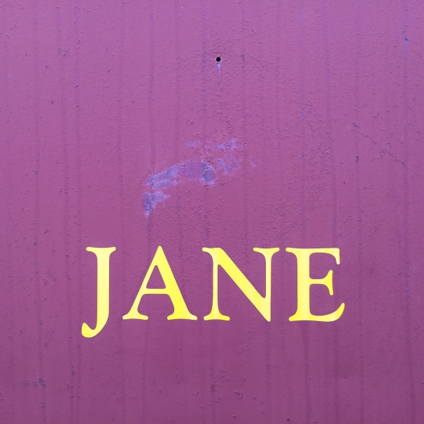 Our  boxcar accommodation, Jane.