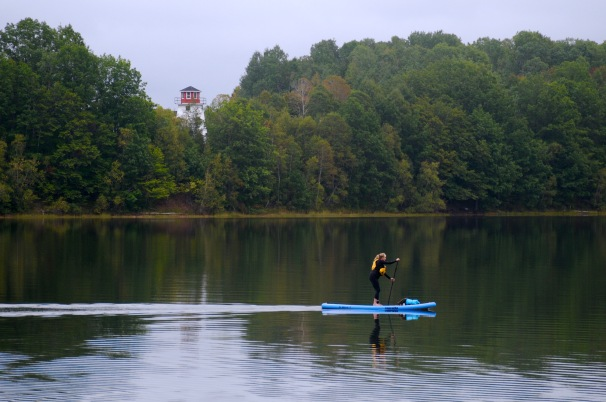 Lighthouse paddle on the Waugh River.