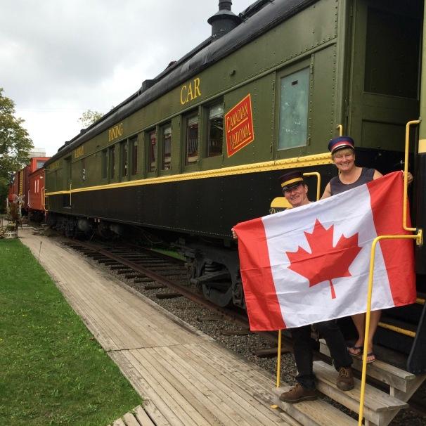 Canada Onboard | Tatamagouche | Train Station Inn | Canada 150