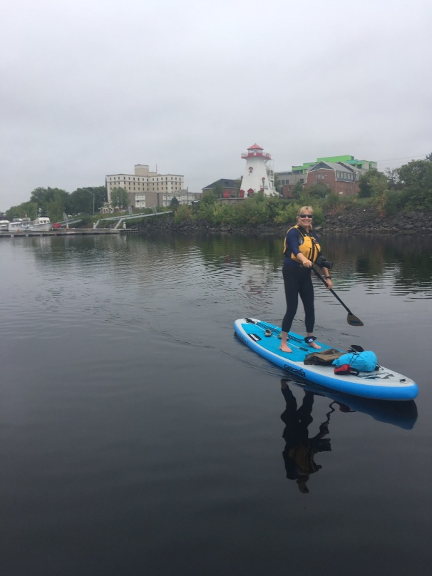 Paddling the St. John, Fredericton, New Brunswick