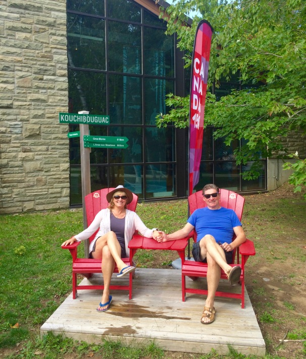 Red Chairs for Canada 150